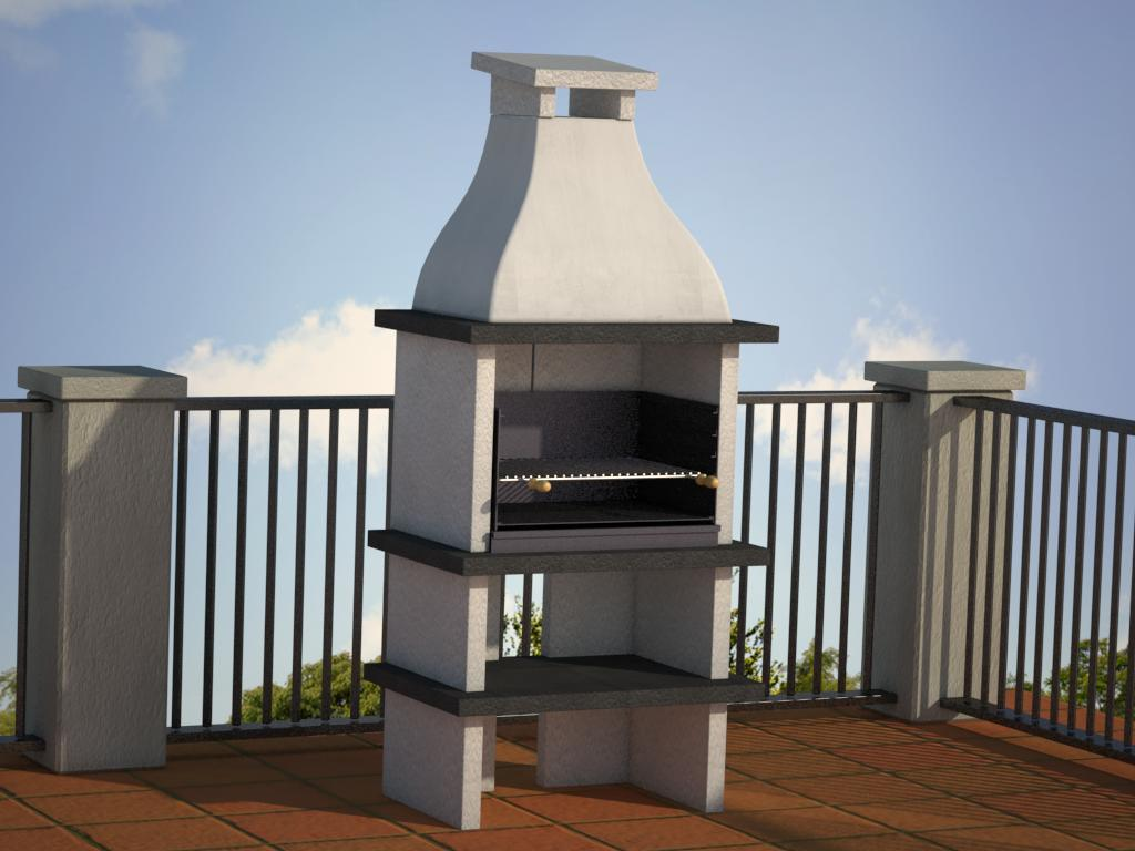 Barbacoa elegant top barbecues barbacoas baratas con for Barbacoas de jardin baratas